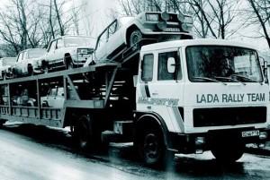 Baltic rally Lada VFTS team
