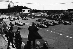 Baltic rally Soviet car racing