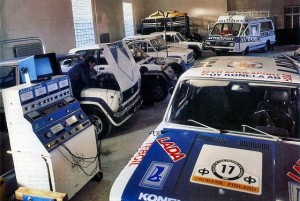 Baltic rally tuning workshop Lada VFTS