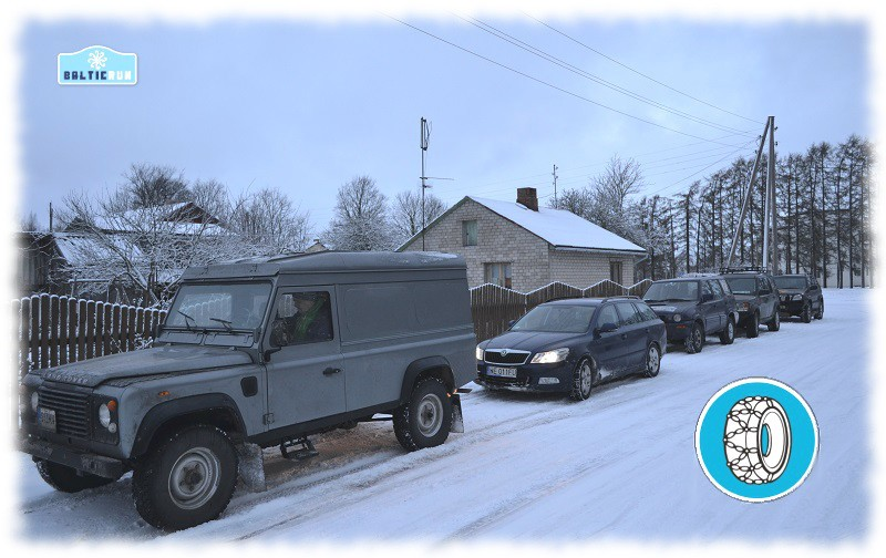 Traffic rules in Estonia snowchains